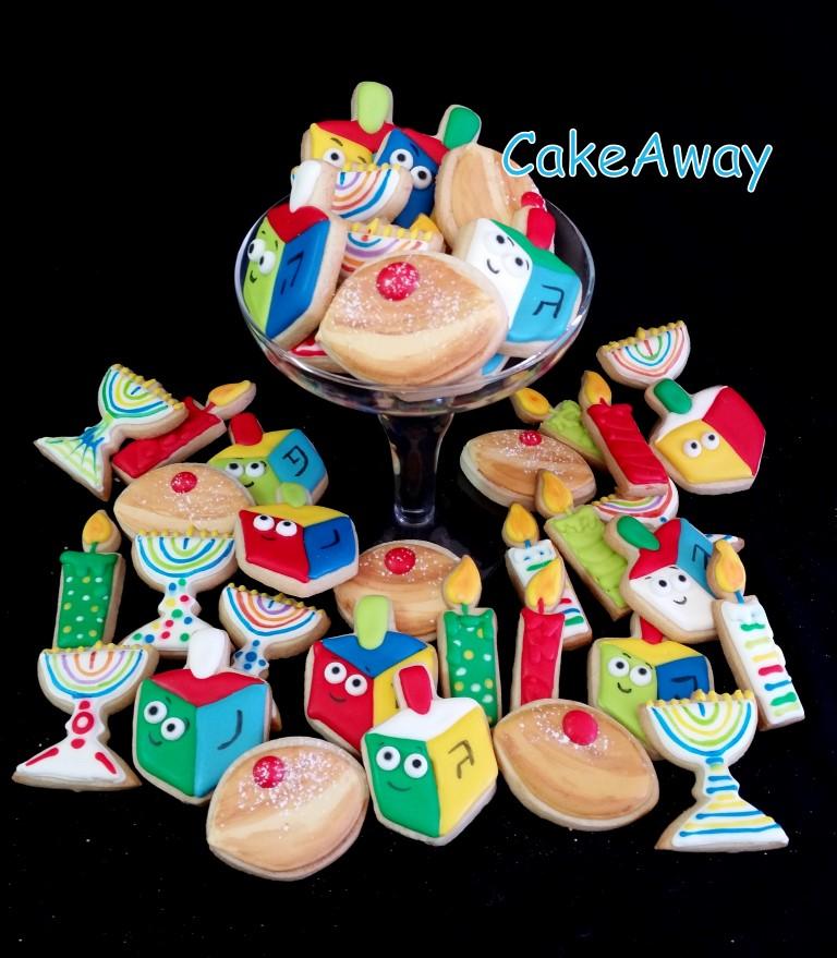 chanukah cookie mix