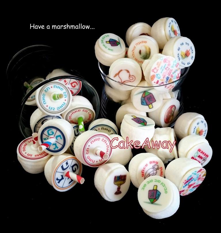 chanukkah marshmallows