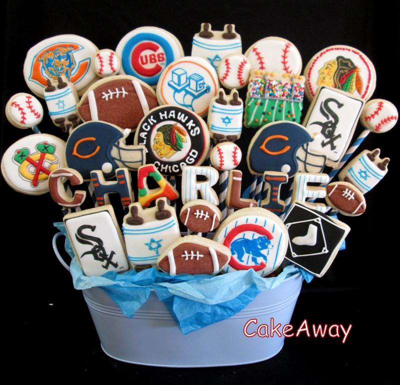 Charlie bar mitzvah cookies