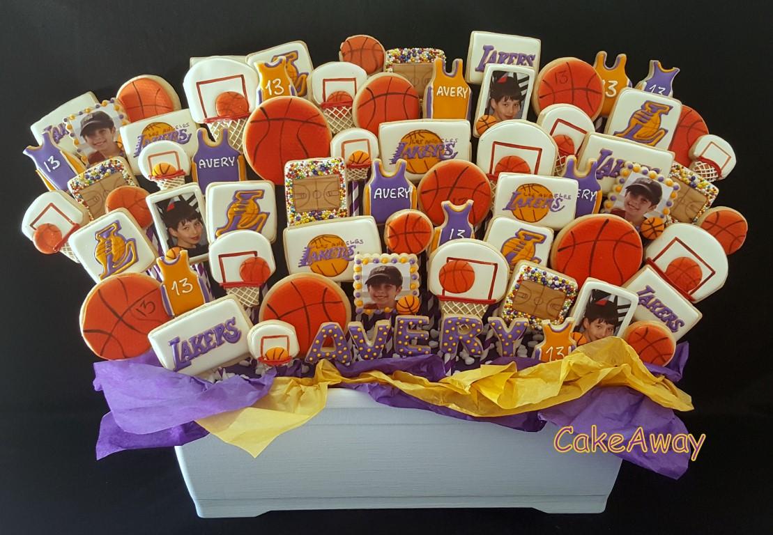 LA Lakers cookies