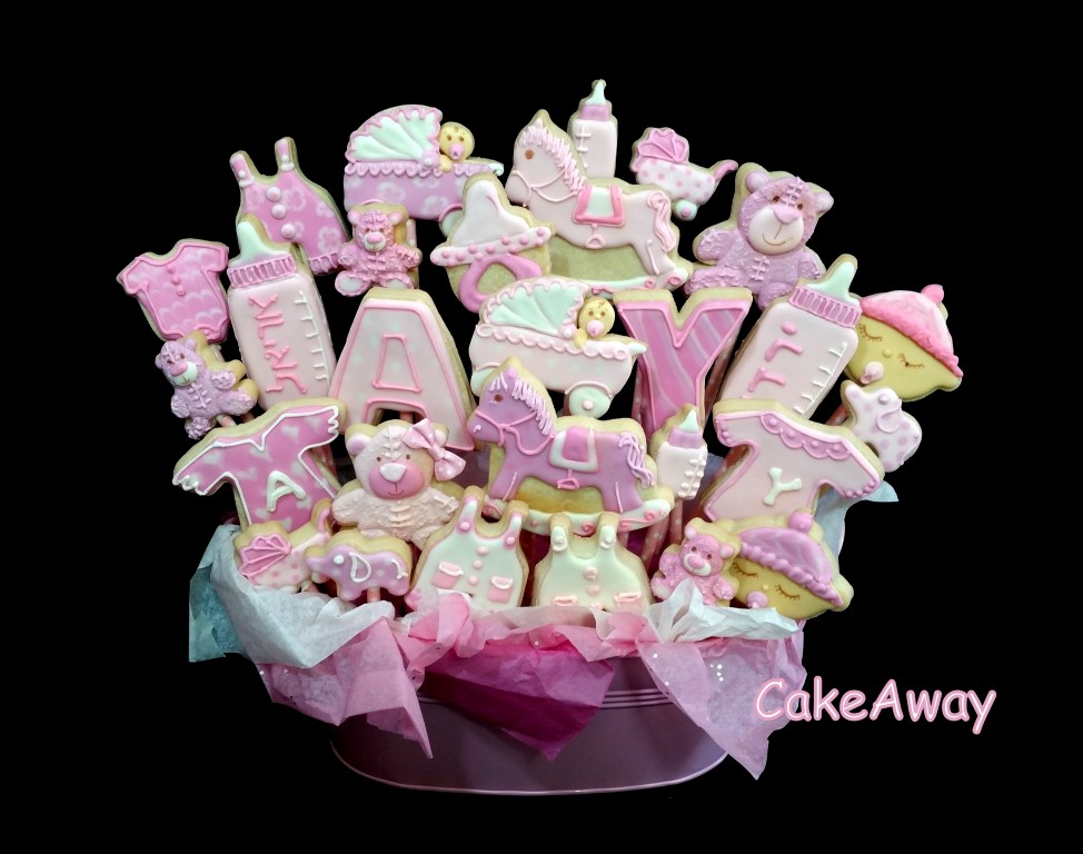 cookie bouquet for twins