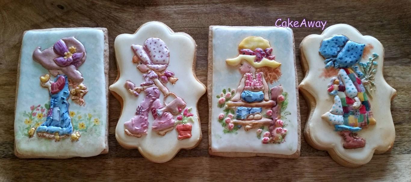 Holly Hobbie & Sarah kay cookies