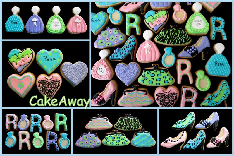 Rena- bat mitzvah cookies