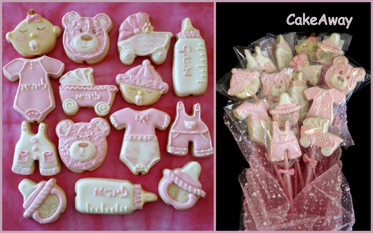baby girl 1 cookies