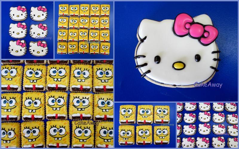 bobsponge & hello kitty