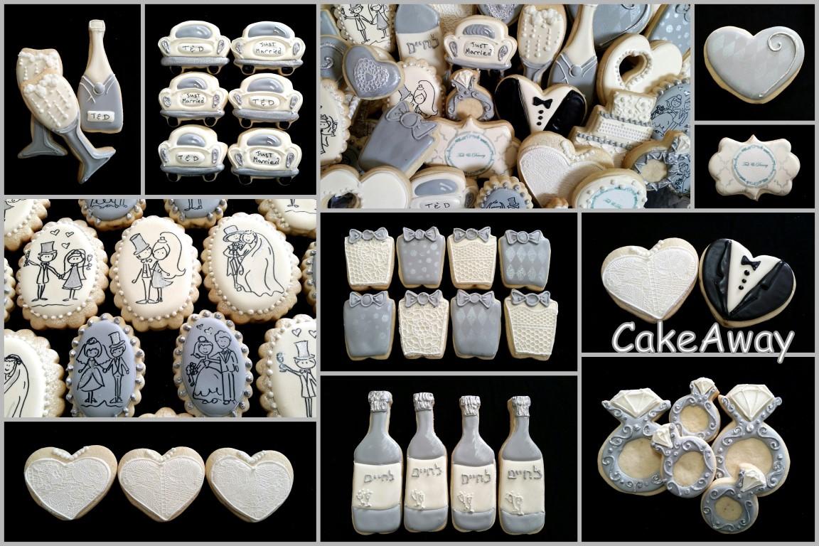 cookies for wedding cookie pots