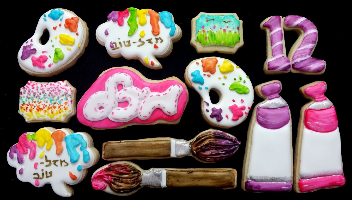 i love to paint cookies