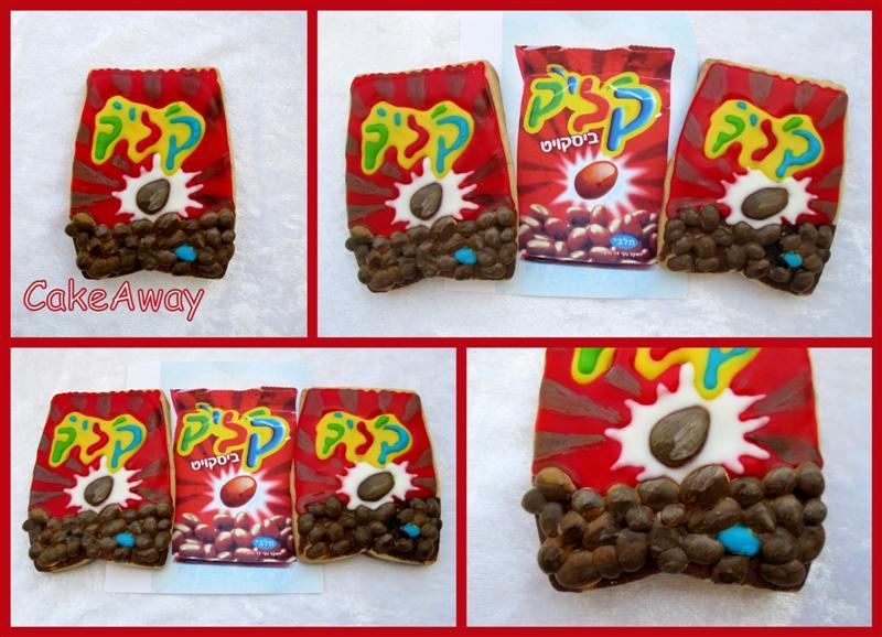 klik chocolate snack