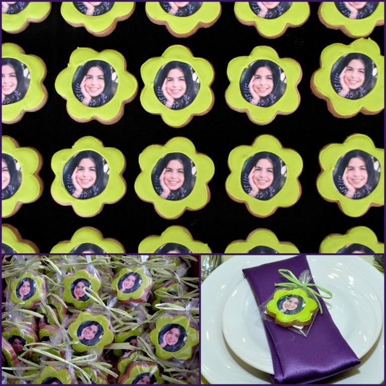 shani- bat mitzvah cookies