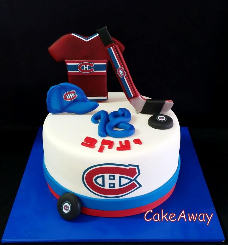Hocky birthday cake