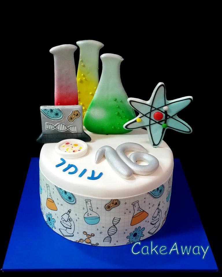 biology cake 1
