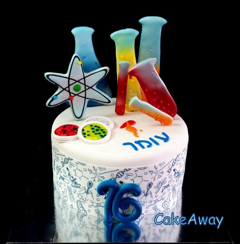 biology cake 2