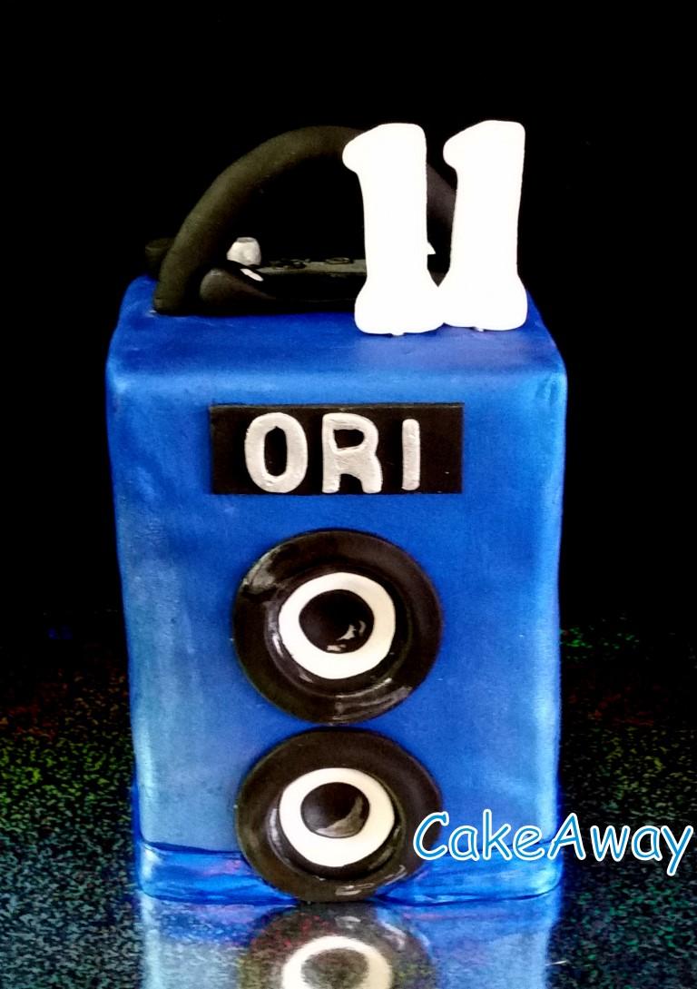 blue speaker Ori