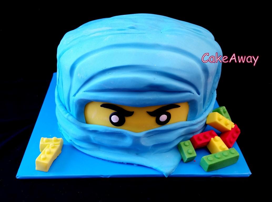 ninjago face cake