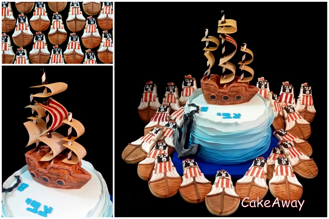 pirate cake and cookies 1